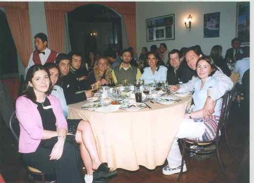 Cena del recuerdo 2000