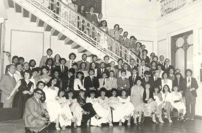 Graduación  4to. 1981