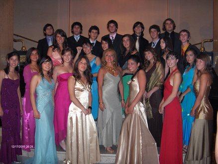 FIESTA DE GRADUACION 2005